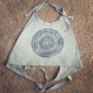 LA Hearts Crop Top